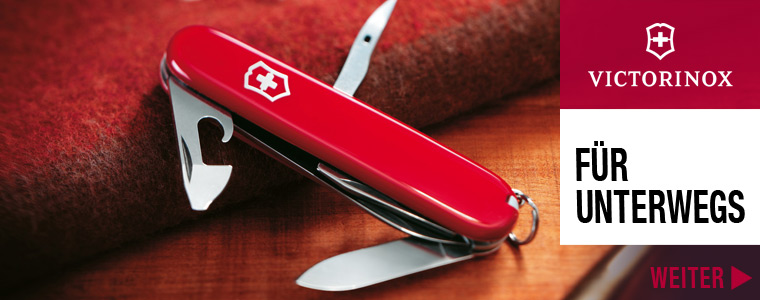 Victorinox Messer unterwegs