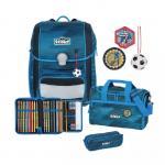 Scout Genius 4-teilige Schulranzen-Set, mit  Funny Snaps® Jungen-Motive Sport jetzt online kaufen