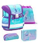 Belmil 'Classy' Schulranzen Set 4-teilig Purple Mermaid jetzt online kaufen