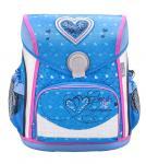 Belmil 'Cool Bag' Schulranzen Set 4-teilig *Glitzer Edition* Jeans Heart jetzt online kaufen
