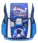 Belmil 'Customize-Me' Schulranzen Set 4-teilig *Leucht-Elemente* Astronaut in Galaxy jetzt online kaufen