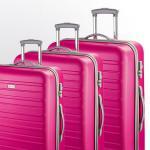 d&n Travel Line 94 Trolley-Set 9400 4R, 3-tlg. S/M/L pink jetzt online kaufen