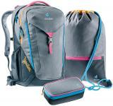 Deuter School Ypsilon Schulrucksack-Set 3tlg. *Limited Edition Pop Art* Snappy Pink jetzt online kaufen