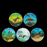 ergobag Kletties Klettie-Set matt, 5-teilig Dinosaurier jetzt online kaufen