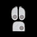 ergobag Reflex Zip-Set, 3-tlg. ab 2019 Reflex jetzt online kaufen