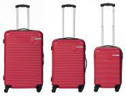 Packenger Hudson Bannisters Koffer 3er-Set Weinrot jetzt online kaufen