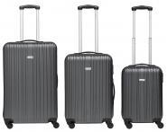 Packenger Line Koffer 3er-Set M, L + XL Dunkelgrau jetzt online kaufen