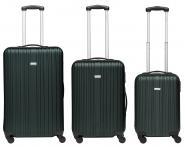 Packenger Line Koffer 3er-Set M, L + XL Dunkelgrün jetzt online kaufen