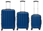 Packenger Velvet Hartschalenkoffer 3er-Set Dunkelblau jetzt online kaufen