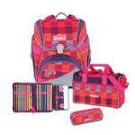 Scout Alpha Schulranzen-Set, 4-teilig Pink Rainbow jetzt online kaufen