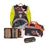 Scout Alpha Schulranzen-Set, 4-teilig Red Racer DIN58124 jetzt online kaufen