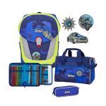 Scout Sunny II 4-teilige Schulranzen-Set, Kollektion 2021/2022 Blue Police jetzt online kaufen