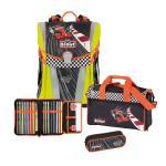 Scout Sunny Schulranzen-Set, 4-teilig Red Racer DIN58124 jetzt online kaufen