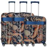 Titan Spotlight Flash Paisley 4-Rollen-Trolley-Set 3-TLG. S/M/L Blue jetzt online kaufen