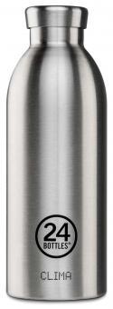 24Bottles® Clima Bottle Basic 500ml Steel