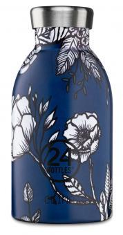 24Bottles® Clima Bottle Floral 330ml Silent Purity