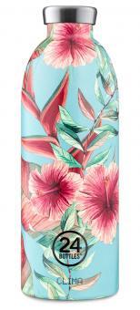 24Bottles® Clima Bottle Floral 850ml Soft Eternity