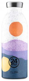 24Bottles® Clima Bottle Landscape 500ml Midnight Sun