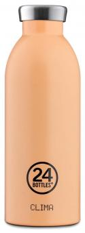 24Bottles® Clima Bottle Pastel 500ml Peach Orange