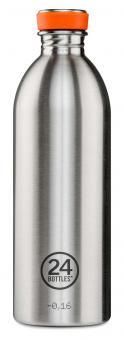 24Bottles® Urban Bottle Basic 1 Liter Steel
