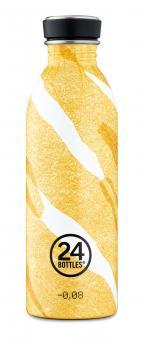 24Bottles® Urban Bottle Canvas 500ml Amber Deco