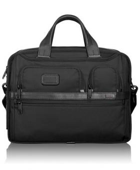 Tumi Alpha 2 Organizer Laptop-Aktentasche erwei...