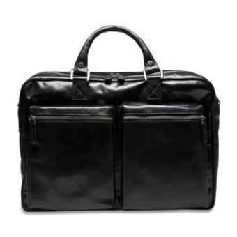 Picard Buddy Männertasche Leder 29 cm schwarz