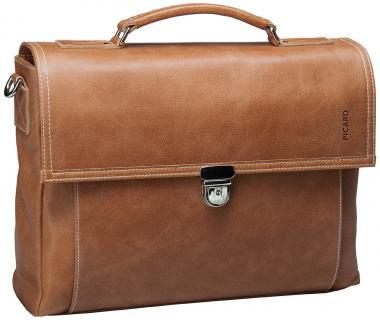 Picard Outback Männertasche Leder 30cm cognac
