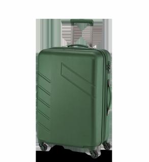 Travelite Tourer Trolley L, 4-Rollen Grün