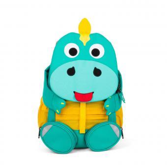 """Affenzahn Großer Freund """"Dino"""" Kindergartenrucksack Türkis"""