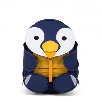 """Affenzahn Großer Freund """"Pinguin"""" Kindergartenrucksack Dunkelblau"""