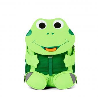 """Affenzahn Großer Freund """"Frosch"""" Kindergartenrucksack *Neon Grün*"""