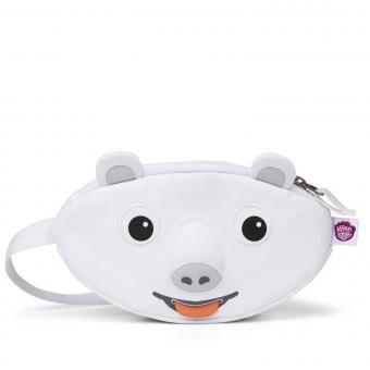 Affenzahn kleine Tasche Polarbär Bauchtasche Weiß