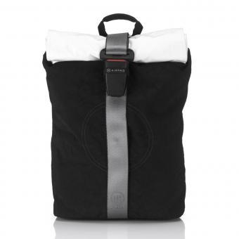 Airpaq 2.0 Classic Rolltop-Rucksack mit Laptopfach Black