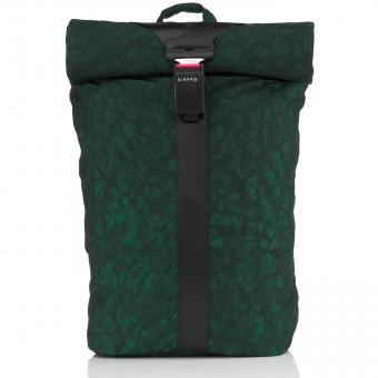 Airpaq BIQ Rolltop-Rucksack XL mit Laptopfach Grün
