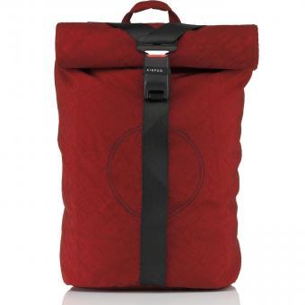 Airpaq BIQ Rolltop-Rucksack XL mit Laptopfach Rot
