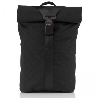 Airpaq BIQ Rolltop-Rucksack XL mit Laptopfach Schwarz