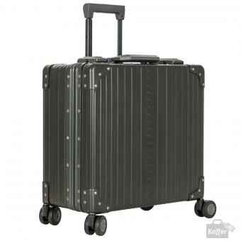 "Aleon Limited Edition Business Case Deluxe 4-Rollen 17"" Dunkelgrün"