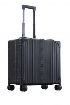 """Aleon Business Case Deluxe 4-Rollen 17"""" Onyx -Schwarz"""
