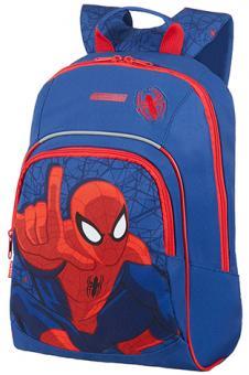 American Tourister New Wonder Backpack S+ Pre-School Marvel Spiderman Web
