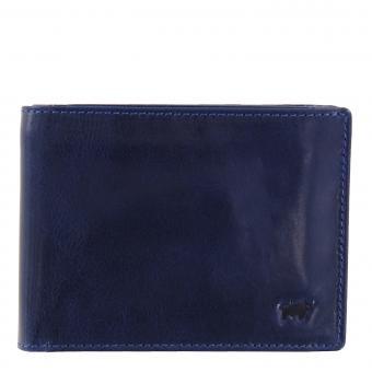 Braun Büffel AREZZO RFID Geldbörse 9CS dunkelblau