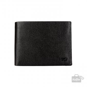 Braun Büffel Mountain RFID Trifold Geldbörse 8CS schwarz