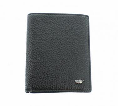 Braun Büffel TURIN Geldbörse 60107 schwarz