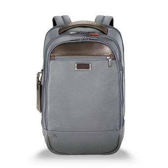 "Briggs & Riley Business Case Medium Backpack 15.6"" grey"