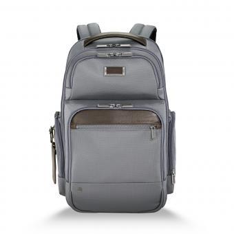 """Briggs & Riley Business Case Medium Cargo Backpack 15.6"""" grey"""