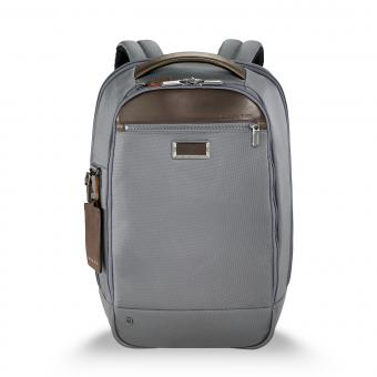 "Briggs & Riley Business Case Medium Slim Backpack 15.6"" grey"