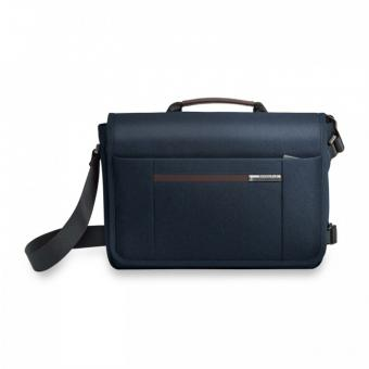 "Briggs & Riley Kinzie Street Micro Messenger mit Laptopfach 13"" Navy Blue"