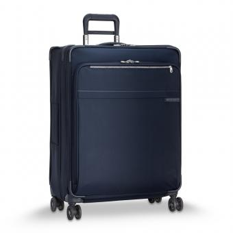Briggs & Riley Baseline Large Expandable 4-Rollen-Trolley Navy Blue