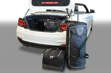 Car-Bags BMW 2 series Cabriolet Reisetaschen-Set (F22-F23) ab 2014 | 1x68/89l + 2x44l + 1x13l