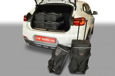 Car-Bags BMW X2 series Reisetaschen-Set (F39) ab 2018   3x60l + 3x32l